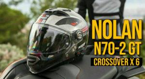 Capacete Nolan N70-2 GT – Um Capacete Crossover com 6 configurações diferentes thumbnail