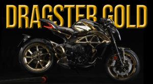 """MV Agusta Dragster RC Shining Gold – Edição Especial Limitada a """"1 unidade"""" thumbnail"""