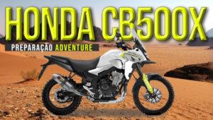 Honda CB500X – Potencial para transformação numa verdadeira Adventure Bike thumbnail