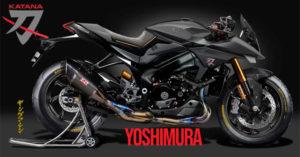 Uma Versão Especial Yoshimura da nova Suzuki Katana com 200 CV para 2020 ? thumbnail