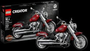 A LEGO lançou  um modelo Fat Boy da Harley-Davidson thumbnail