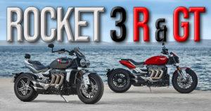 Triumph anuncia duas novas Rocket 3 – Versão R e Versão GT thumbnail