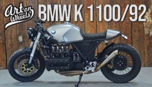 BMW K 1100 de 1992 – Preparação Café Racer pela Art on Wheels thumbnail