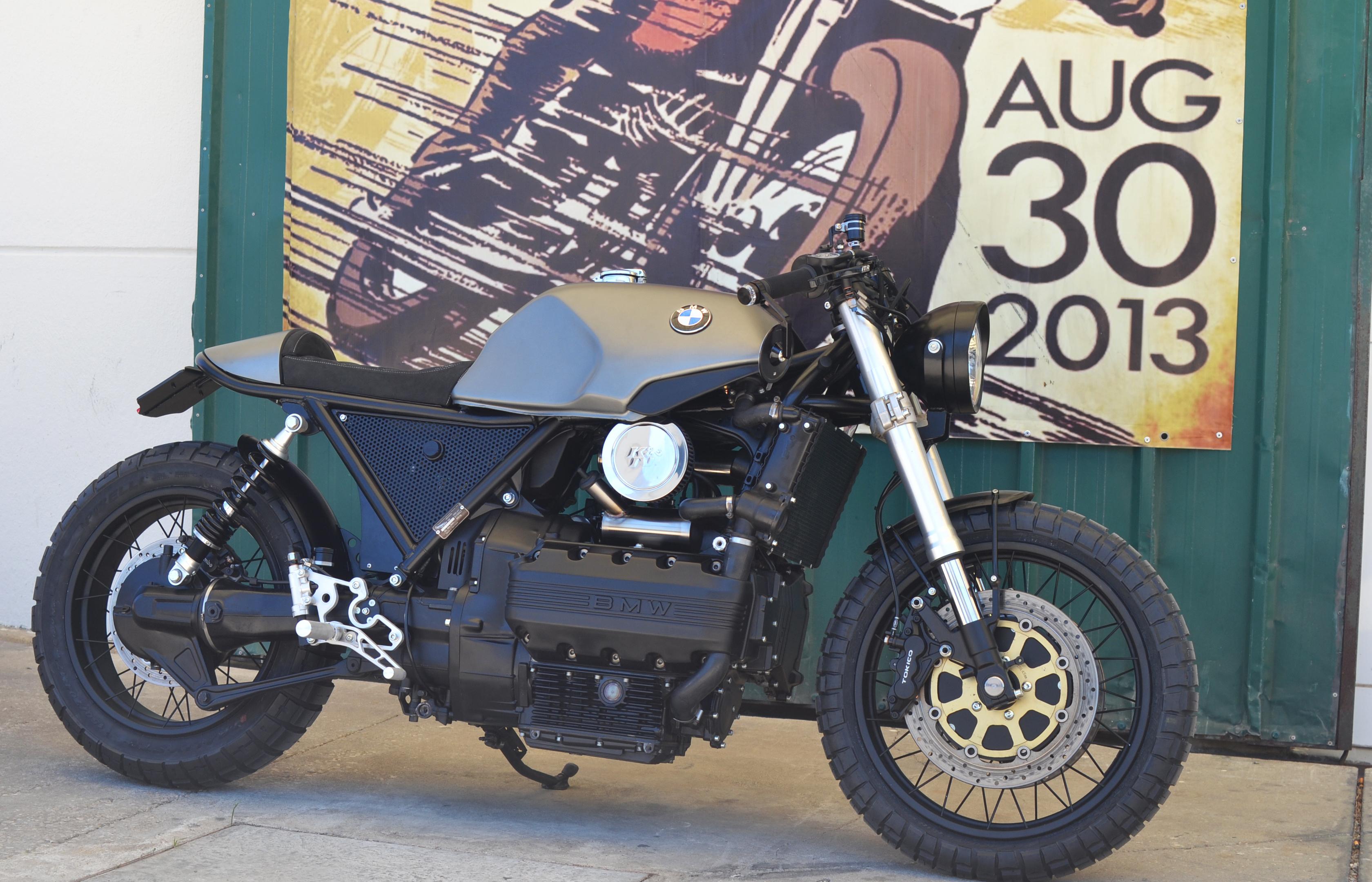 Bmw K 1100 De 1992 Preparacao Cafe Racer Pela Art On Wheels Motomais