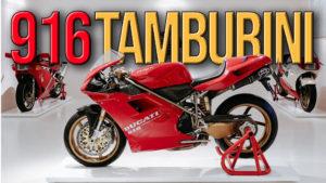 A 916 de Massimo Tamburini em exposição no Museu Ducati thumbnail