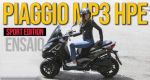Ensaio Piaggio MP3 300 HPE Sport – Agilidade Urbana em 3 rodas thumbnail