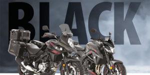 """Suzuki Versões especiais """"Black Edition"""" da V-Strom e GSX-S thumbnail"""