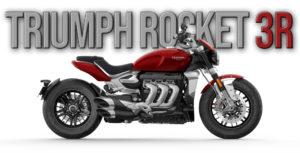 Nova TRIUMPH ROCKET 3 R de 2020 thumbnail