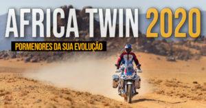 Honda Africa Twin 2020 – Pormenores sobre a sua Evolução thumbnail