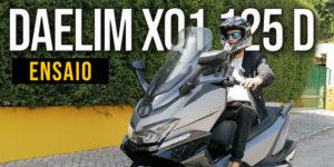 Ensaio Scooter QX1 125 D – Luxuosa, moderna e acessível thumbnail