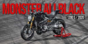 "Ducati Monster 1200 S torna-se ""Black on Black"" em 2020 thumbnail"