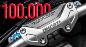 A Ducati Multistrada atinge a marca das 100.000 unidades thumbnail
