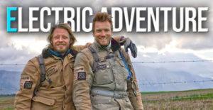 Ewan e Charley nas filmagens de Long Way Up em Harley-Davidson LiveWire thumbnail