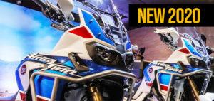 Oficialmente apresentada pela Honda a nova Africa Twin 2020 – Teaser thumbnail