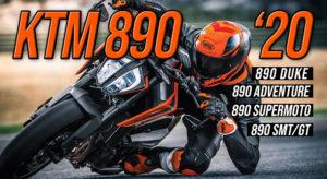 Nova Gama KTM 890 irá incluir 4 modelos para 2020 thumbnail