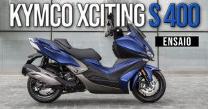 Ensaio Kymco Xciting S 400 – Uma Scooter desportiva verdadeiramente XXXcitante thumbnail