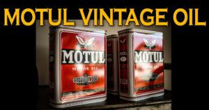 A Motul presta homenagem aos anos 50 com o lançamento de um novo Óleo Vintage thumbnail