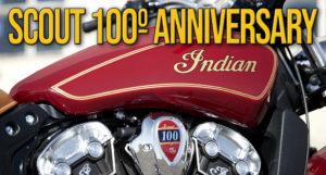 Indian Motorcycle homenageia o legado de 100 anos da Scout em 2020 com os modelos Scout Bobber Twenty e Limited Edition Scout 100th Anniversary thumbnail