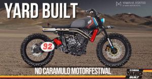 Motos do projeto Yard Built em exposição no idílico cenário do Caramulo MotorFestival. thumbnail