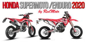 Honda irá apresentar na EICMA em Milão as suas Supermoto e Enduro de 2020 thumbnail