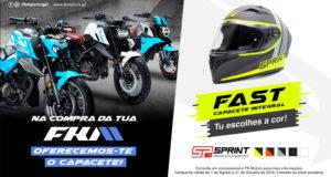 Campanha FK Motors com oferta capacete Sprint thumbnail