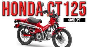 Honda CT 125 – Uma nova Concept Scrambler para 2020 thumbnail