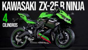 Kawasaki Ninja ZX-25R com motor de 4 cilindros apresentada em Tóquio thumbnail