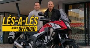 Participámos no 5º Lés-a-Lés OffRoad com Honda CB500X thumbnail