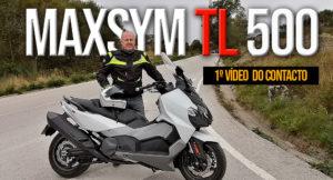 Primeiras imagens e impressões do contacto com a nova MaxiScooter MAXSYM TL 500 thumbnail