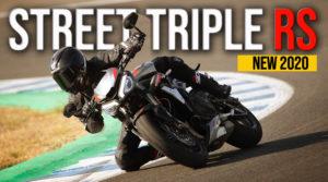 Nova Triumph Street Triple 765 RS de 2020 com maior performance thumbnail