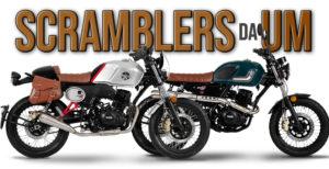 A marca UM aumenta oferta na gama Scrambler com novas versões X-Naked e X-Café. thumbnail