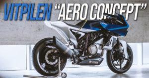 """Husqvarna Vitpilen """"Aero Concept"""" galardoada com distinção numa competição internacional de design thumbnail"""