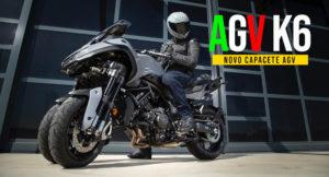 Novo Capacete AGV K6 apresentado em Milão thumbnail