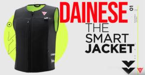 A DAINESE apresentou em Milão, o revolucionário SMART JACKET, o colete para airbags com tecnologia D-air®. thumbnail
