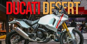 DUCATI DESERT X – Protótipo Adventure apresentado no Salão de Milão thumbnail