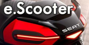 e-SCOOTER Eléctrica da SEAT – Protótipo apresentado pela SEAT Urban Mobility thumbnail