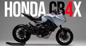 Honda CB4X Concept – Estilo Sport Touring Crossover thumbnail