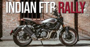 Indian apresenta novo modelo em Milão – a FTR  Rally thumbnail