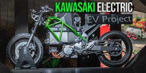 A Kawasaki revelou na EICMA um protótipo com motor elétrico thumbnail