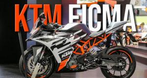 Vídeo do stand da KTM em Milão com os novos modelos 2020 thumbnail
