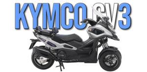 KYMCO CV3 – Novo Protótipo de 3 rodas apresentado em Milão thumbnail