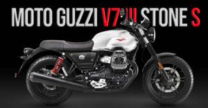 Moto Guzzi V7 III Stone S de 2020 Edição Limitada thumbnail