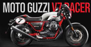 Moto Guzzi V7 Racer – Versão limitada que celebra o seu 10º Aniversário thumbnail