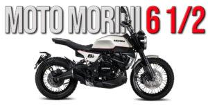 Moto Morini 6 ½ Seiemmezzo – Uma Naked de cilindrada média thumbnail