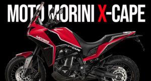Moto Morini X-Cape – Uma bela Adventure Touring thumbnail