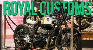 Pura paixão: a Royal Enfield mostra uma impressionante linha de customizações na EICMA 2019 thumbnail