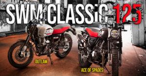 SWM Classic 125 – Modelos OUTLAW 125 e ACE of SPADES 125 thumbnail