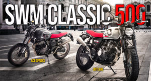 SWM Classic 500 – Modelo Gran Milano OUTLAW e ACE of SPADES thumbnail