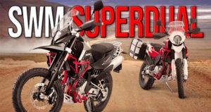 SWM Superdual 600 Versão T e Versão X de 2020 thumbnail