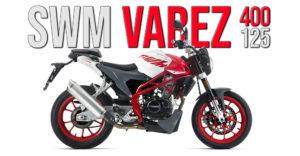 SWM VA'RE:Z 2020 – Uma nova Naked com 2 versões: 125cc e 400cc thumbnail